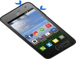 Alcatel Pop Star hard reset