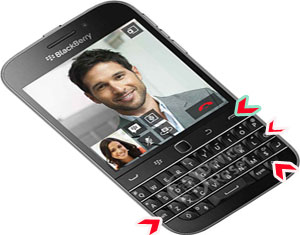 BlackBerry Classic hard reset