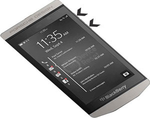 BlackBerry Porsche Design P9982 hard reset