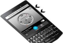 BlackBerry Porsche Design P9983 hard reset