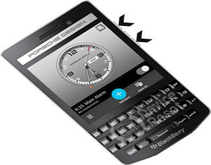 BlackBerry Porsche Design P9983 hard reset