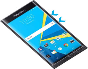 BlackBerry Priv hard reset