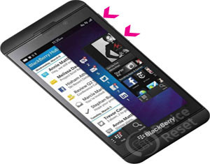 BlackBerry Z10 hard reset