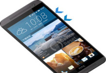 HTC One E9 hard reset