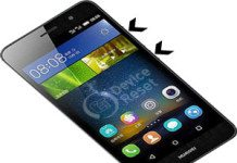 Huawei Enjoy 5 hard reset