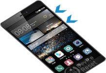 Huawei P8 hard reset