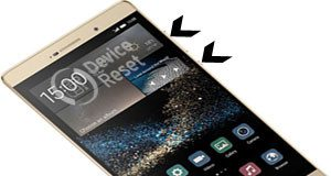 Huawei P8max hard reset
