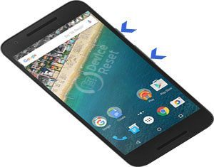 LG Nexus 5X hard reset