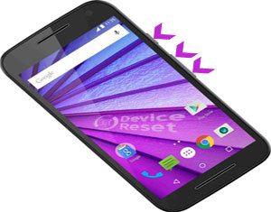Motorola Moto G Turbo Edition hard reset