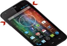 Prestigio MultiPhone 5501 Duo hard reset