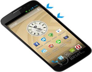 Prestigio MultiPhone 5503 Duo hard reset
