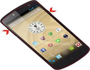 Prestigio MultiPhone 7500 hard reset