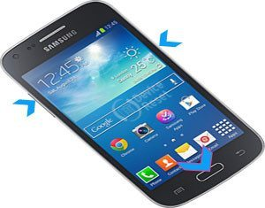 Samsung Galaxy Core Plus hard reset