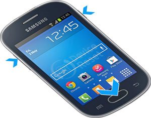 Samsung Galaxy Fame Lite Duos S6792L hard reset