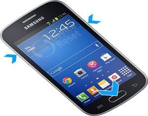 Samsung Galaxy Fresh S7390 hard reset