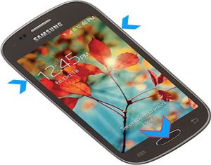 Samsung Galaxy Light hard reset