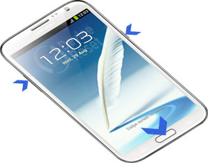 Samsung Galaxy Note 2 N7100 hard reset