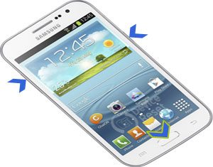 Samsung Galaxy Win I8550 hard reset
