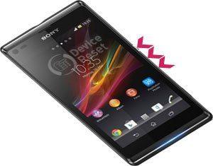 Sony Xperia L hard reset