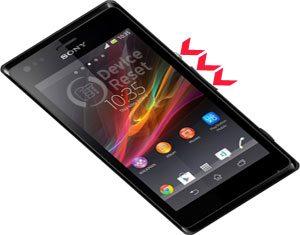 Sony Xperia M hard reset