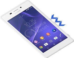 Sony Xperia M2 Aqua hard reset