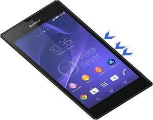 Sony Xperia T3 hard reset