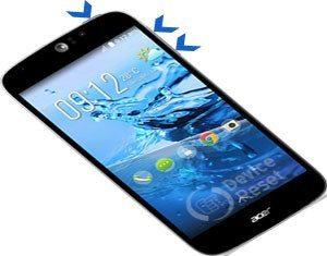 Acer Liquid Jade Z hard reset