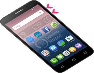 Alcatel Pop 3 (5) hard reset