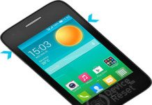 Alcatel Pop D1 hard reset