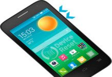 Alcatel Pop D3 hard reset