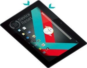 Vodafone Smart Tab 3 10.1 hard reset