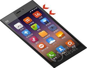 Xiaomi Mi 3 hard reset