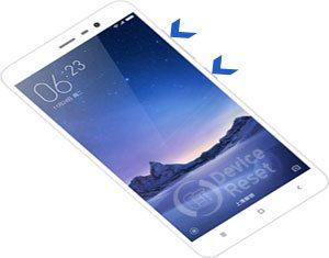 Xiaomi Redmi Note 3 hard reset