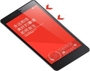 Xiaomi Redmi Note hard reset