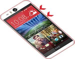 HTC Desire Eye hard reset