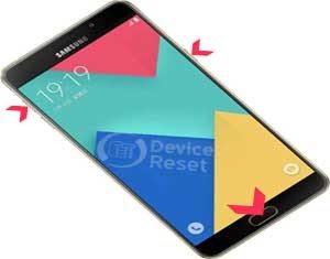 Samsung Galaxy A9 (2016) hard reset