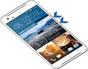 HTC One X9 hard reset