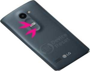 LG K10 hard reset