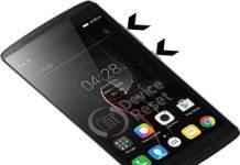 Lenovo Vibe K4 Note hard reset