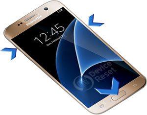 Samsung Galaxy S7 hard reset