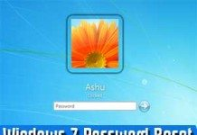 windows 7 password reset