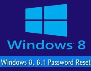 windows 8 password reset