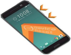 HTC One M10 hard reset