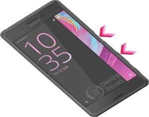 Sony Xperia X Premium hard reset