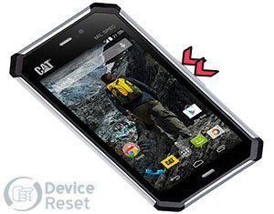 Cat S50 hard reset