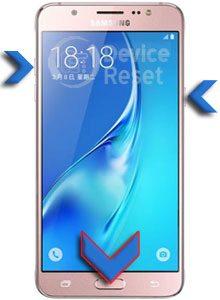 Samsung Galaxy J5 (2016) hard reset
