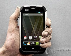 Cat B15 hard reset