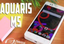 BQ Aquaris M5 hard reset