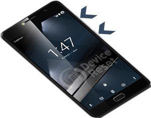 how to hard reset Vodafone Smart Platinum 7