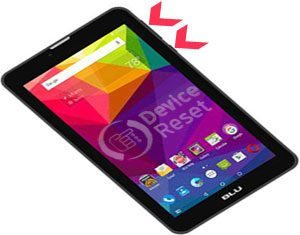 how to hard reset BLU Touch Book M7